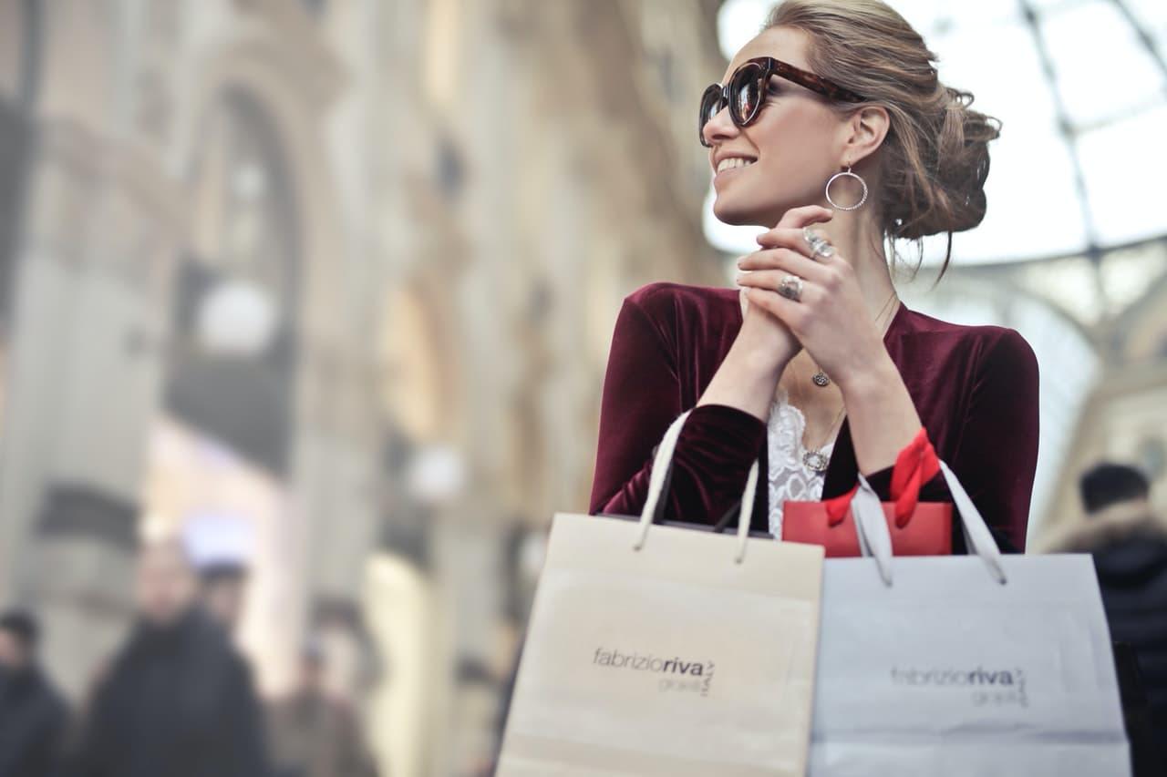 Weekend Shopping Woman